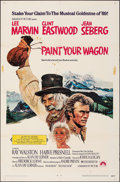 """Movie Posters:Musical, Paint Your Wagon (Paramount, 1969). Folded, Fine+. One Sheet (27"""" X 41""""). Musical.. ..."""