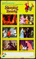 """Movie Posters:Animation, Sleeping Beauty & Other Lot (Buena Vista, R-1970). Fine. Standee (11.5"""" X 19""""), One Sheet (27"""" X 41""""), & Uncut Pressbooks (2... (Total: 4 Items)"""