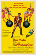"""Movie Posters:Action, The Wrecking Crew (Columbia, 1969). Folded, Very Fine. One Sheet (27"""" X 41""""). Robert McGinnis Artwork. Action.. ..."""