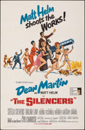 """Movie Posters:Action, The Silencers (Columbia, 1966). Folded, Very Fine. One Sheet (27"""" X 41""""). Robert McGinnis Artwork. Action.. ..."""