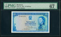 Rhodesia Reserve Bank of Rhodesia 10 Shillings 14.10.1964 Pick 24 PMG Superb Gem Unc 67 EPQ