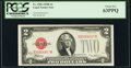 Small Size:Legal Tender Notes, Fr. 1506 $2 1928E Legal Tender Note. PCGS Choice New 63PPQ.. ...
