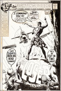 Original Comic Art:Covers, Joe Kubert Our Fighting Forces #137 Losers Cover Original Art (DC, 1972)....