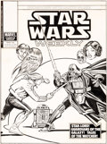 Original Comic Art:Covers, Carmine Infantino and Dan Green Star Wars Weekly #90 Cover Original Art (Marvel UK, 1979)....
