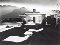 Julius Shulman (American, 1910-2009) Kaufman House, Richard Neutra, Palm Springs, California, 1947 Gelatin silver prin...