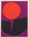Prints & Multiples, Luis Feito López (Spanish, b. 1929). Circulo III, 1970. Lithograph in colors on paper. 29-1/2 x 22-1/2 inches (74.9 x 57...