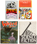 Books:General, Science Fiction and Horror Index Volumes Group of 8 (Various, 1952-2004).... (Total: 8 Items)