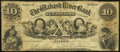Obsoletes By State:Indiana, Jasper, IN- Wabash River Bank $10 June 7, 1854 Fine.. ...