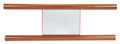 Furniture, Ettore Sottsass (Italian, 1917-2007). Ambuja Mirror from the Mobili Lunghi Collection, 2000. Mahogany, mirrored glass, P...