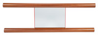 Ettore Sottsass (Italian, 1917-2007) Ambuja Mirror from the Mobili Lunghi Collection, 2000 Mahogany, mirrored glass, P...
