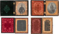 Photography:Tintypes, Group Civil War Tintypes And Ambrotype.... (Total: 5 Items)