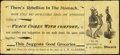 Confederate Notes:1864 Issues, Facsimile T65 $100 1864 Advertising Note Fine. ...