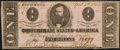 Confederate Notes:1863 Issues, T62 $1 1863 About Uncirculated.. ...