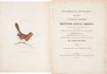Books:Natural History Books & Prints, James Bolton. Harmonia Ruralis. Or, An Essay towards a Natural History of British Song Birds. London: W. Simpkin...