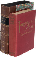 Books:First Editions, Edgar Rice Burroughs. Tarzan of the Apes. Chicago: A. C. McClurg, 1914. First edition, first state....