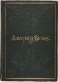 Books:Literature Pre-1900, [Walt Whitman]. Leaves of Grass. Brooklyn, New York: 1855. First edition, first printing, with second-state copyrigh...