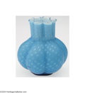 Art Glass:Other , Stevens and Williams: A MOTHER OF PEARL SATIN GLASS VASE (...