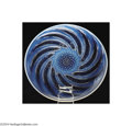 Art Glass:Lalique, A MOLD-BLOWN GLASS PLATE