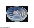 Art Glass:Lalique, A MOLD-BLOWN OPALESCENT GLASS BOWL