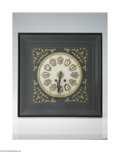 Decorative Arts, Continental:Other , A FRENCH EMPIRE WALL CLOCK