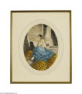 Decorative Prints, European:Prints, Orange Cellar: LOUIS ICART (Orange Cellar)