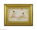 Paintings, GEORGE LAWRENCE BULLEID (British 1858-1933). A Columbarium, 1898. Watercolor on paper. 12in. x 18.75in. sight. Signed and da...