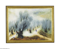 REUVEN RUBIN (Israeli 1893-1974) The Olive Tree Oil on canvas 21.25in. x 29in. Signed lower right: Rika/ Rubin Texas Fr...