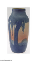 Ceramics & Porcelain, American:Modern  (1900 1949)  , Newcomb: AN AMERICAN POTTERY VASE (Newcomb)