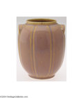 Ceramics & Porcelain, American:Modern  (1900 1949)  , AN ARTS AND CRAFTS POTTERY VASE (Unknown)
