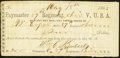 89th Reg. Ohio V., USA, OH- W. Copes, Sutler $2 1863 Keller OH-PE-A Very Fine