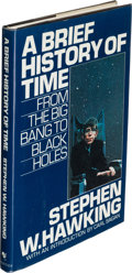 Books:Non-fiction, Stephen W. Hawking. A Brief History of Time. From the Big Bang to Black Holes. Bantam Books, [1988]. Later print...