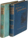 Books:Literature Pre-1900, A[rthur] Conan Doyle. The Adventures of Sherlock Holmes. London: George Newnes, 1892. First edition, first state wit... (Total: 2 Items)