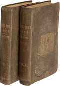 Books:Literature Pre-1900, Harriet Beecher Stowe. Uncle Tom's Cabin. Or, Life Among the Lowly. Boston: John P. Jewett & Company, 1852. Firs...