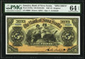 World Currency, Canada Kingston, Jamaica- Bank of Nova Scotia 5 Pounds 2.1.1920 Ch.# 550-38-02-08S Pick Jamaica S132bs Specimen PM...