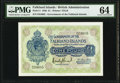 Falkland Islands Government of the Falkland Islands 1 Pound 19.5.1938 Pick 5 PMG Choice Uncirculated 64