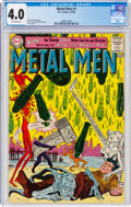 Silver Age (1956-1969):Superhero, Metal Men #1 (DC, 1963) CGC VG 4.0 Off-white pages....