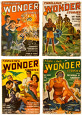 Pulps:Science Fiction, Startling Stories/Thrilling Wonder Stories (Standard, 1939-51) Condition: Average GD/VG....
