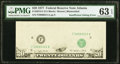 Insufficient Inking. Fr. 2072-F $20 1977 Federal Reserve Note. PMG Choice Uncirculated 63 EPQ