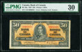 World Currency, Canada Bank of Canada $50 2.1.1937 Pick 63a BC-26a PMG Very Fine 30.. ...