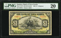 World Currency, Canada Kingston, Jamaica- Bank of Nova Scotia 1 Pound 2.1.1930 Ch.# 550-38-04-02/04 Pick Jamaica S139 PMG Very Fine 20....