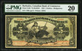 World Currency, Canada Bridgetown, Barbados- Bank of Commerce $5 2.1.1922 Ch.# 75-20-02/04 Pick Barbados S120 PMG Very Fine 20.. ...