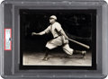 Circa 1910 Honus Wagner Original Photograph by Charles Conlon--Image Used for 1911 T5 Card, PSA/DNA Type 1