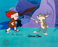 Animation Art:Production Cel, Bugs Bunny's Bustin' Out All Over Ba...