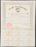 Obsoletes By State:Alabama, (Montgomery), AL- State of Alabama Bond $500 1861 Cr. 61A Very Fine.. ...