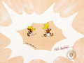 Animation Art:Production Cel, Bugs Bunny's 3rd Movie: 1001 Rabbit Tales Friends of Speedy Gonzales Signed Production Cel Setup (Warne...