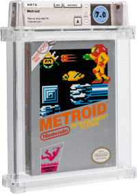 Metroid [Oval SOQ TM, Later Production] Wata 7.0 A Sealed NES Nintendo 1987 USA