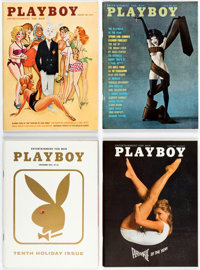 Playboy 1961-70 Magazine Boxes Group of 3 (HMH Publishing, 1961-70) Condition: Average VF.... (Total: 3 Box Lots)