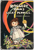 Books:General, Johnny Gruelle Raggedy Ann's Lucky Pennies Hardcover First Edition (P. F. Volland Co., 1932)....
