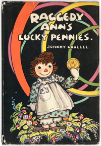 Johnny Gruelle Raggedy Ann's Lucky Pennies Hardcover First Edition (P. F. Volland Co., 1932)
