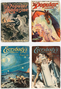 The Popular Magazine/Everybody's Magazine Group of 7 (Street & Smith, 1905-31) Condition Average VG.... (Total: 7 It...